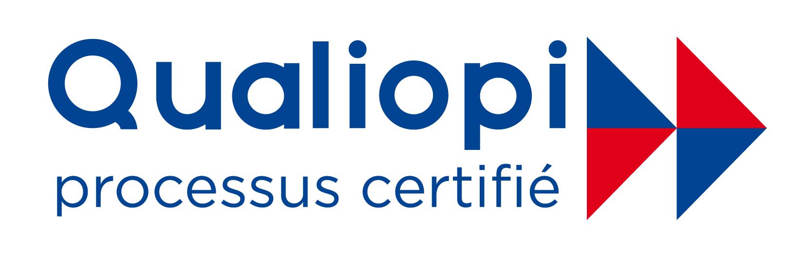 Logo Qualiopi pour la prise en charge des formations